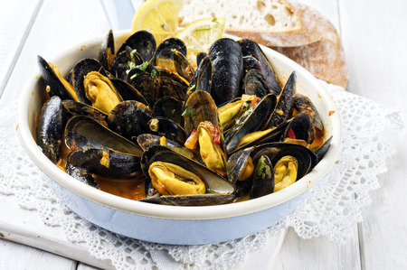 emaille: Sailors Mussels