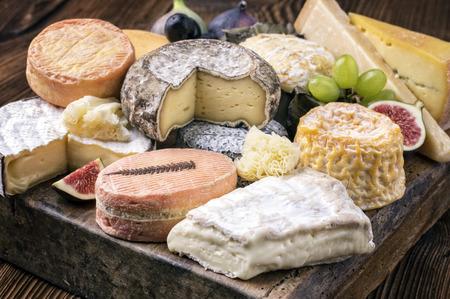 cheese plate Standard-Bild