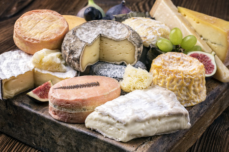 cheese plate Banque d'images