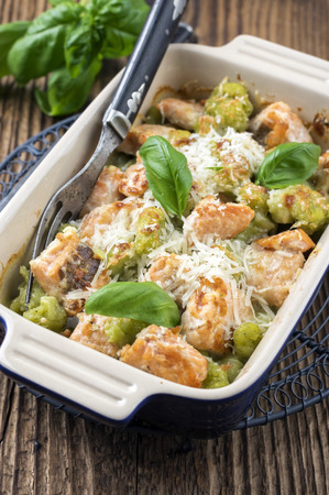 Gnocchi with Salmon photo