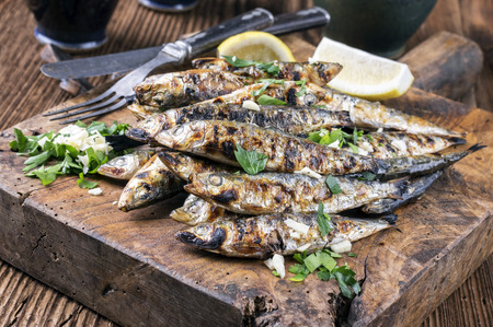 Grilled Anchovies photo