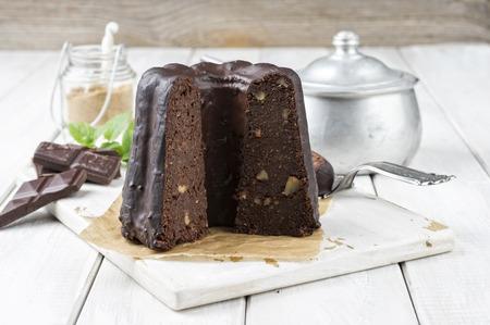 plum pudding: torta al cioccolato bundt