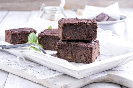 white backing: brownies