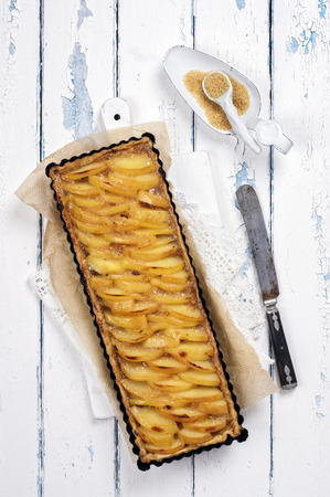 french quince pastry photo