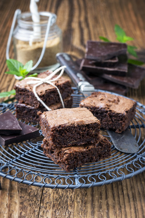 self made: self made brownies Stock Photo