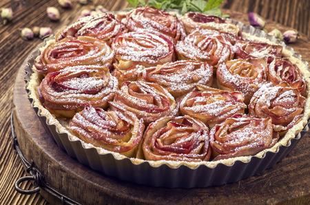 bonne: french apple pie Stock Photo