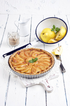 quince: quince pastry