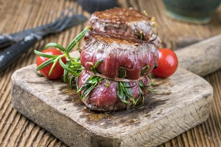 haut: medallion of beef fillet