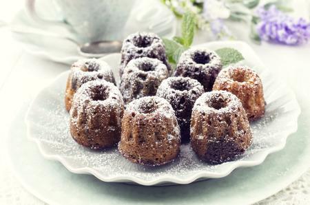 Mini-Kuchen Standard-Bild