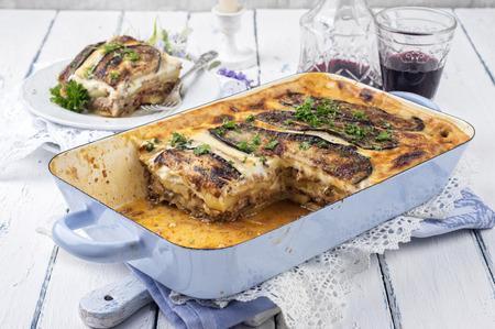 cuisines: greek moussaka Stock Photo