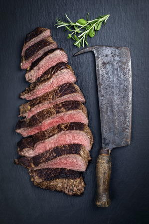 the cleaver: Roast Beef Slices