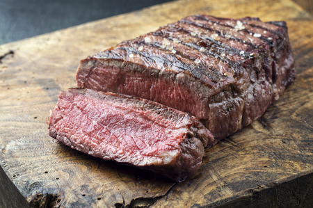 Sirloin Steak Standard-Bild