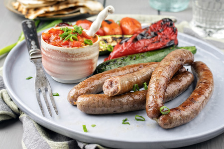 Lamb Sausages Фото со стока