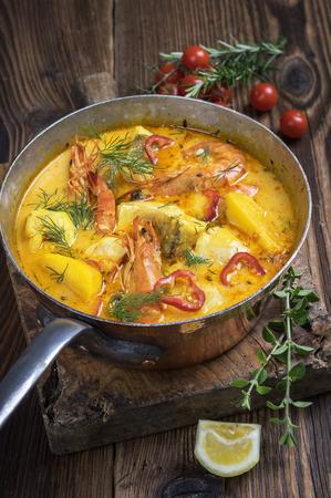 casserole: Moqueca de Peixe