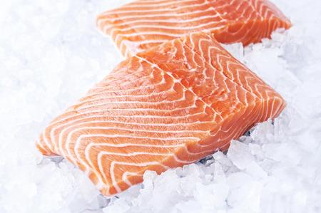 eis: Salmon Filet in Ice