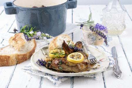 Lavender Lemon Chicken