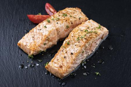 black fish: salmon