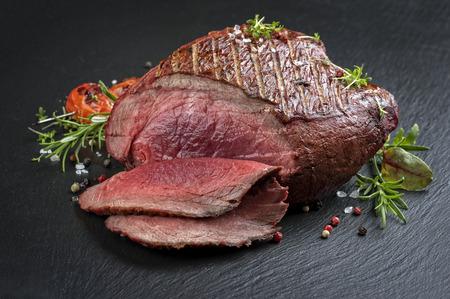 carne cruda: Barbacoa Haunch of Venison