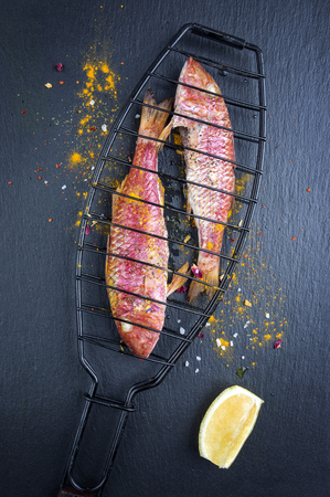 goatfish: Barbecue Red Mullet