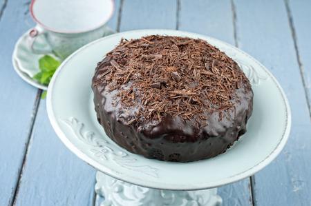 cake plate: Chocolate Cake