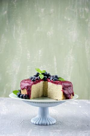 bonne: Blueberry Cake
