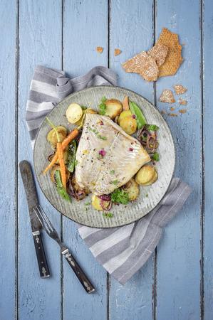 coalfish: Coalfish on Plate