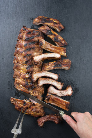 dissect: Carving of Spare Ribs