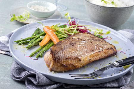 bonne: Saithe Fish with Rice and Vegetable