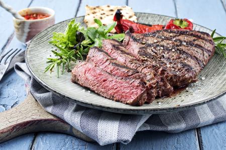 Charolais Steak sur la planche