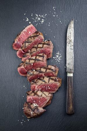 Black Angus Steak Banco de Imagens