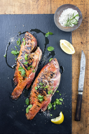 manjar: Barbacoa Rose Fish