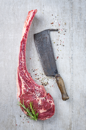 matured: Dry Aged Tomahawk Steak