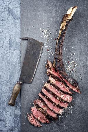 rusty: Dry Aged Wagyu Tomahawk Steak