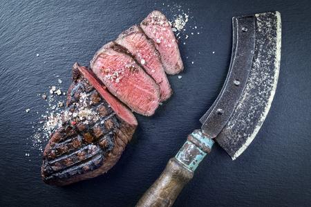 parrillero: Filete de la barbacoa Wagyu Point