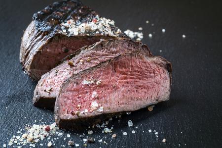 Barbecue Wagyu Steak-Point Standard-Bild