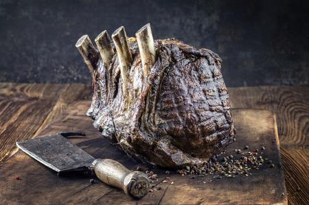 Dry Aged Barbecue Rib van Beef
