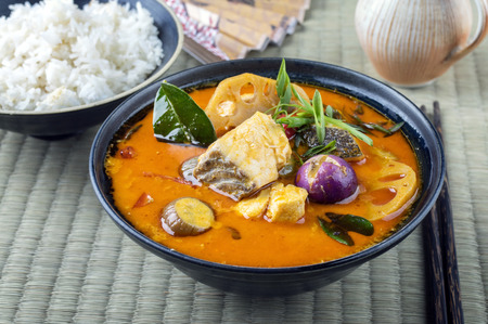 pla: Tom Yam Pla in a Bowl