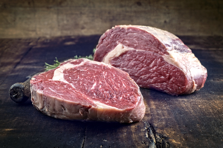 the cleaver: Dry Aged Barbecue Rib-Eye Double Steak