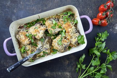 casserole: Artichoke Hearts in Casserole