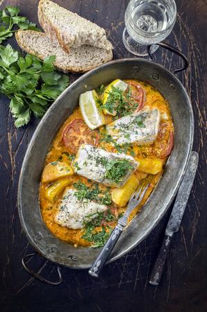 coalfish: Bouillabaisse in Copper Pot
