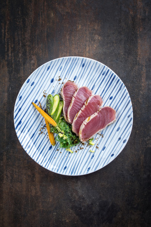 filet: Tuna Filet with Vegetable