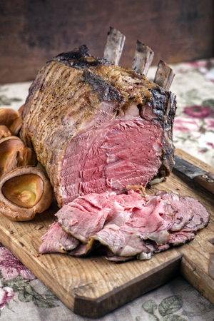 cold cut: Rib of Beef Cold Cut with Yorkshires