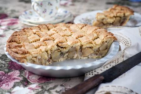 Appel Pie in Backing Form