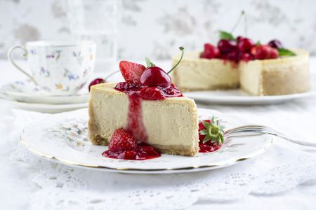 blancmange: Cheesecake with Fresh Fruits
