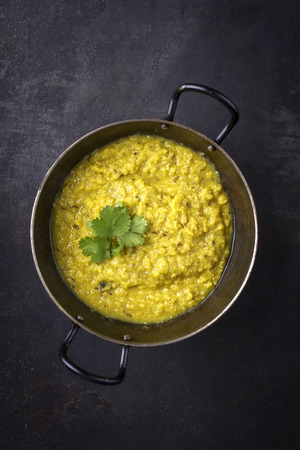 Indian Dal Soup in Bowl