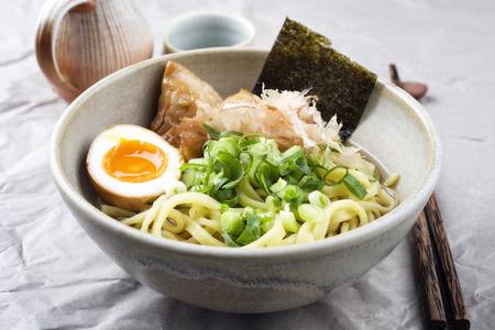 Ramen Fish Soup in Bowl