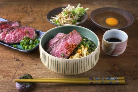 ei: Ramen Soup with Waygu Beef Filet
