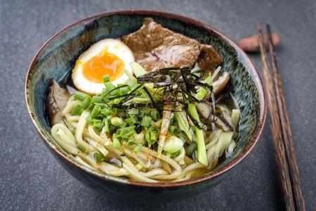 ei: Ramen Wagyu Soup in Bowl