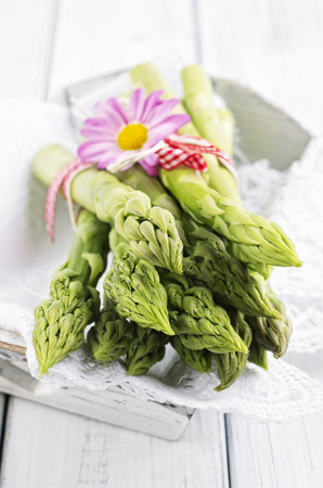 green asparagus Standard-Bild