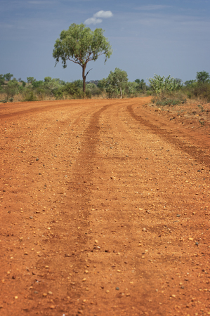 Washboard Track in Western Australia